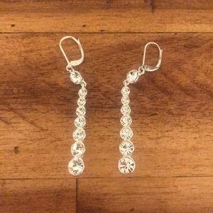 Dangly Diamond Earrings